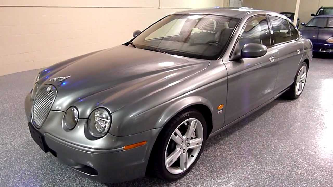 2005 jaguar s type 4dr sedan v8 r supercharged 2109. Black Bedroom Furniture Sets. Home Design Ideas