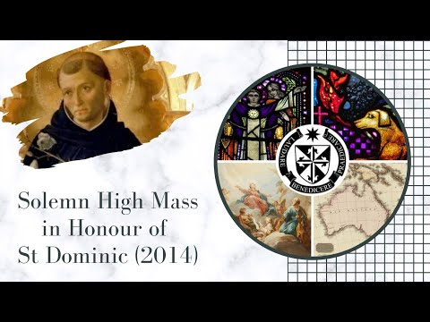 Solemn High Mass in honor of St Dominic 2014