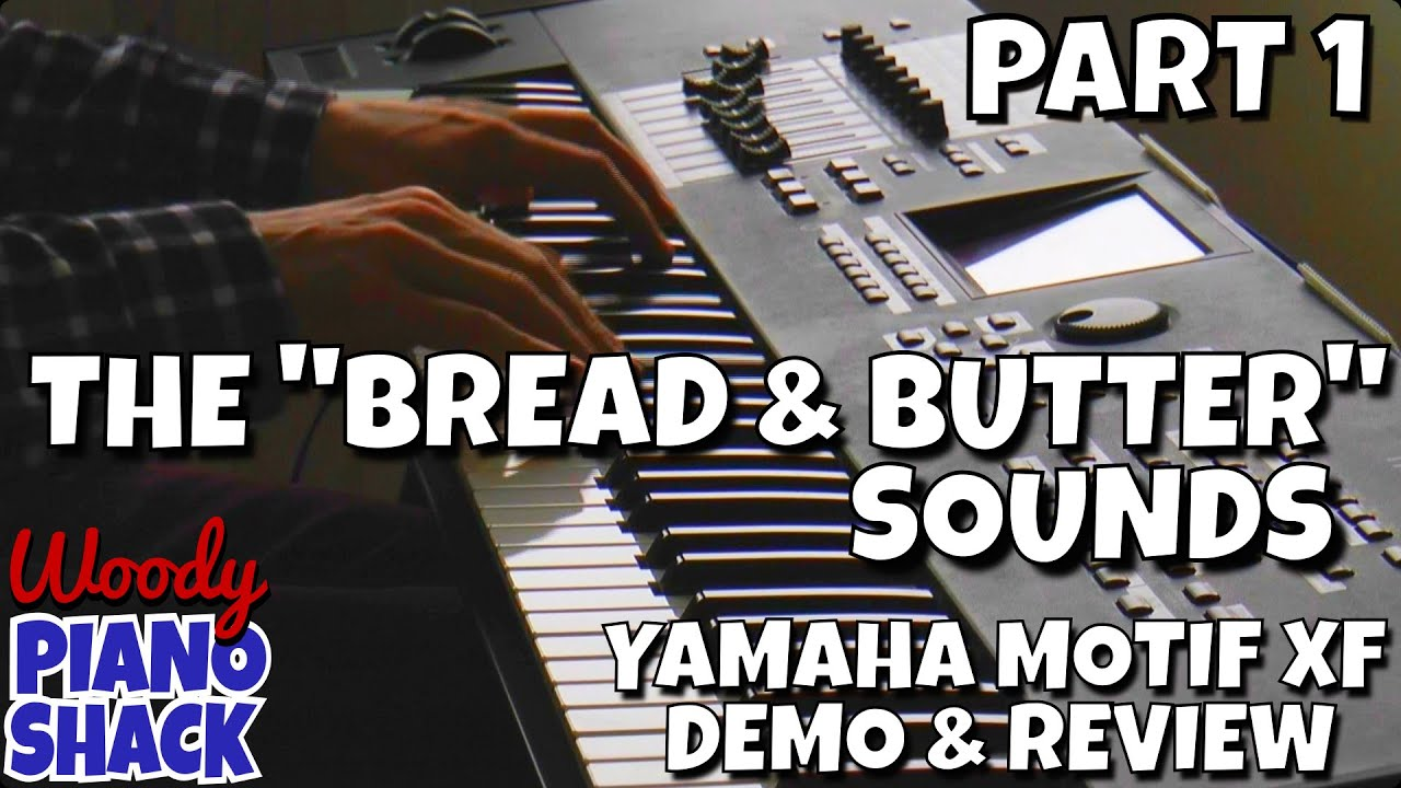 Yamaha motif xf demo review part 01 bread butter for Yamaha motif sounds download free