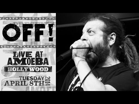 OFF! - Void You Out / Poison City / Red, White, & Black (Live at Amoeba)