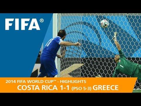 COSTA RICA v GREECE (1:1 PSO 5:3) - 2014 FIFA World Cup™