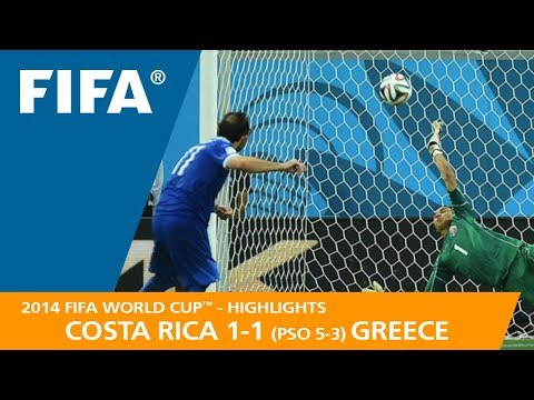 COSTA RICA v GREECE (1:1 PSO 5:3) – 2014 FIFA World Cup™