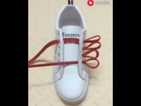 Model Tali Sepatu Jaman Now Youtube