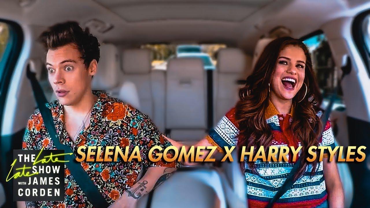 Selena Gomez Harry Styles Carpool Karaoke Youtube