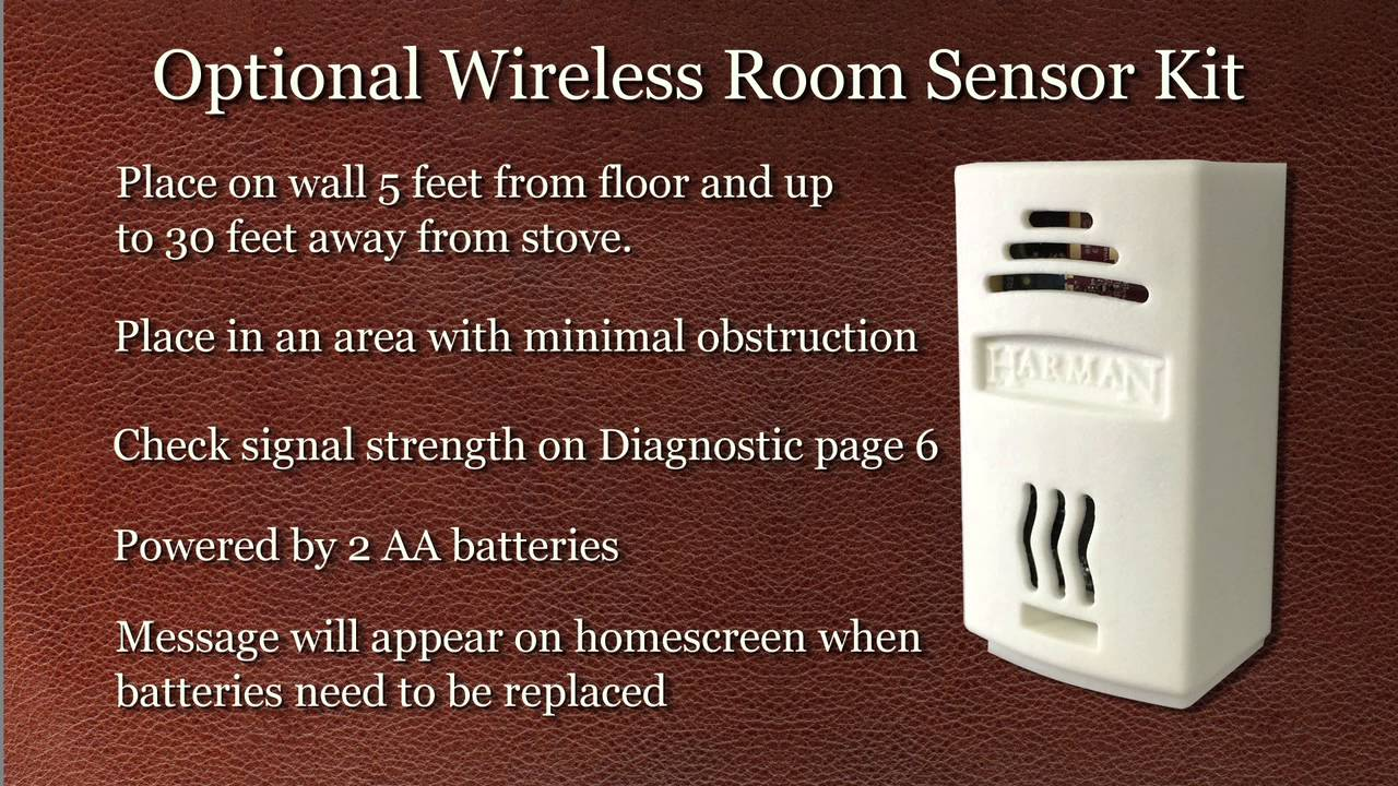 Harman U00ae Wireless Room Sensor Video