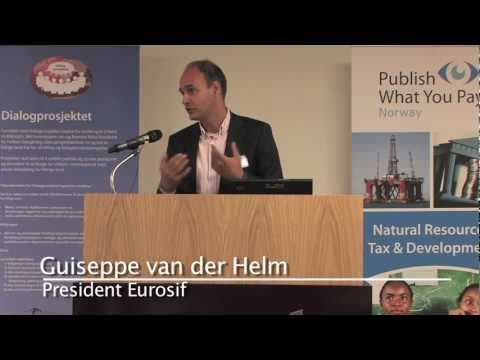 Oslo, 23rd May 2011: Global Investors for Financial Transparency