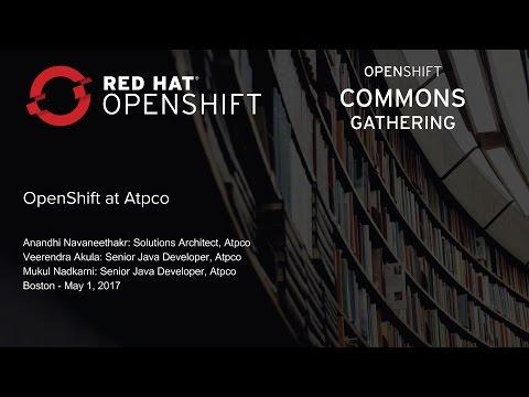 OpenShift at ATPCO