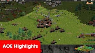 AOE Highlights, game đấu mãn nhãn của tứ hùng xưa, GameTV vs Hà Nội (BLV Gman)