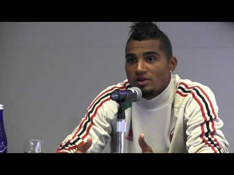 Counter Attack TV -- AC Milan Kevin-Prince Boateng on New Tactics of Manager Massimiliano Allegri