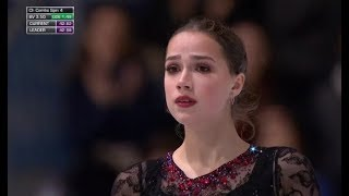 Просто совершенство Алина Загитова откатала короткую программу на этапе во Франции