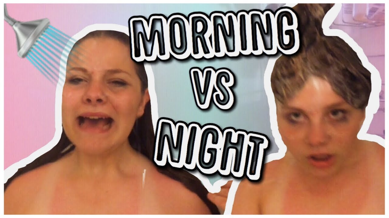 night vs morning Night mom vs morning mom - accurate instagramcom/catandnat get your tour  tickets here -- catandnatca/tour.