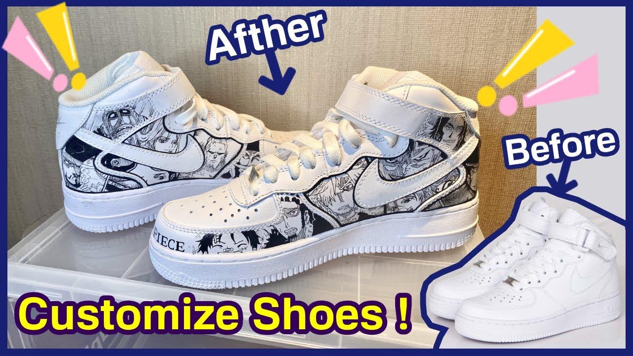 How To Customize Shoes NIKE Air Jordan/My First Custom Air Jordan / Painting Shoes /custom shoes2020