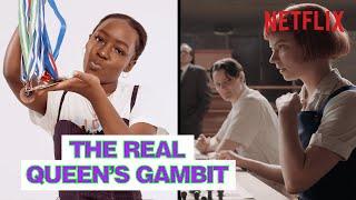 Is Elsa Majimbo The Real Queen's Gambit?   Strong Black Lead