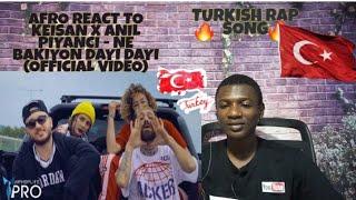 Keişan x Anıl Piyancı - Ne Bakıyon Dayı Dayı (Official Video) | Afro Reaction