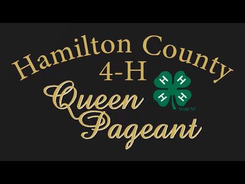 Hamilton County 4-H Queen Pageant 2017