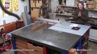 760. Introduction To Series: Table Saw Work Station