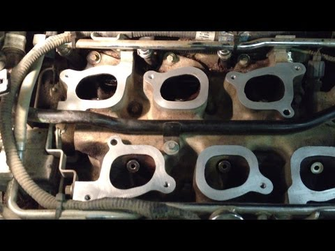 Ford Windstar P0171 P0174 Upper Intake Manifold Gasket Replacement