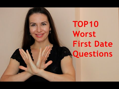 10 Worst First Date Questions To Ask a Woman from YouTube · Duration:  7 minutes 50 seconds