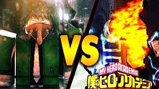 Heroes Online vs Boku no Roblox Remastered | Qual é o melhor jogo Boku no Hero Roblox | o iBeMaine