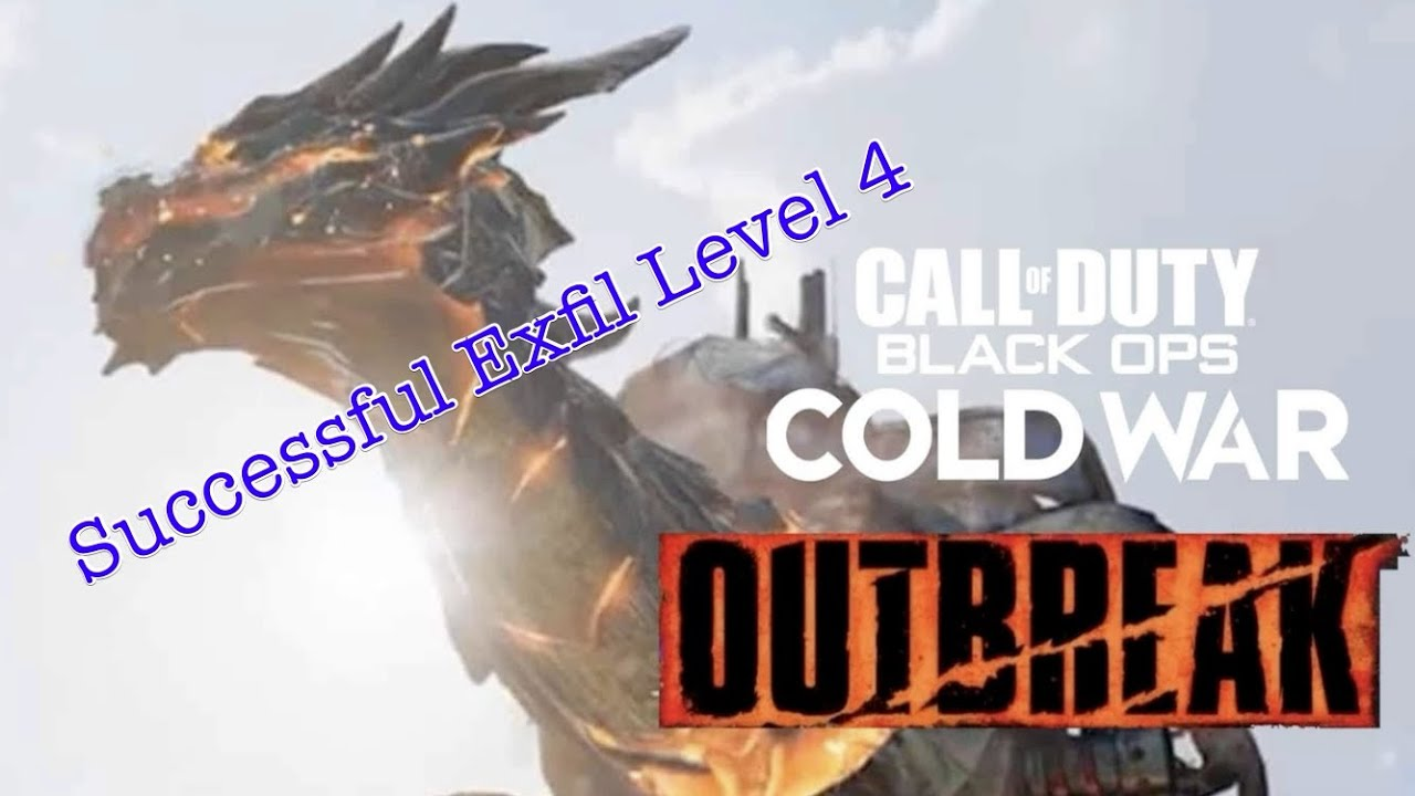 Call of Duty Cold War: Zombie Outbreak-Successful Exfil