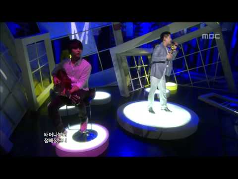 Bobby Kim - Like a man, 바비킴 - 남자답게, Music Core 20100703