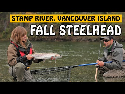 CATCHING STAMP RIVER STEELHEAD WITH TROUT BEADS - THE HUNT FOR EGG HUNTERS | Fishing With Rod