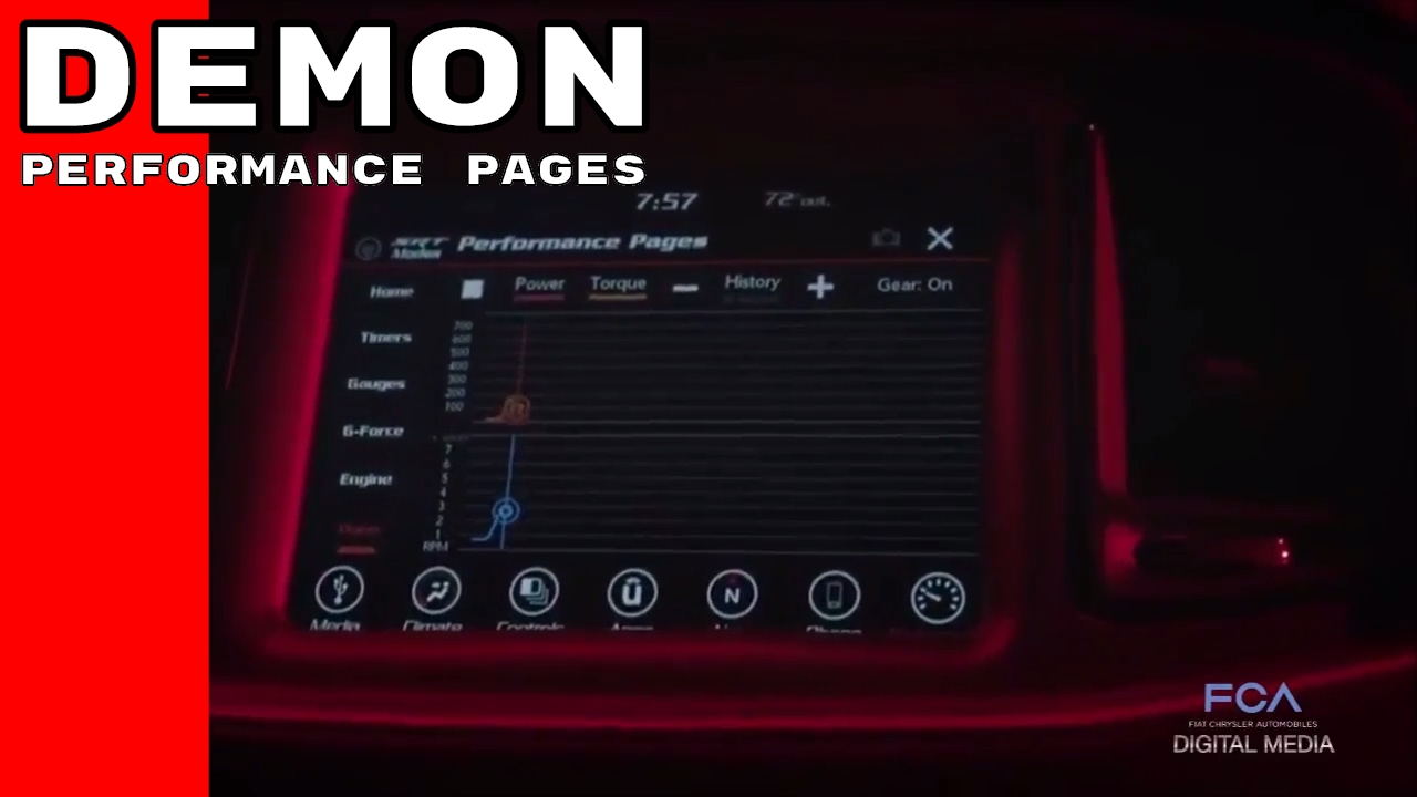 Dodge Demon Performance Pages - YouTube