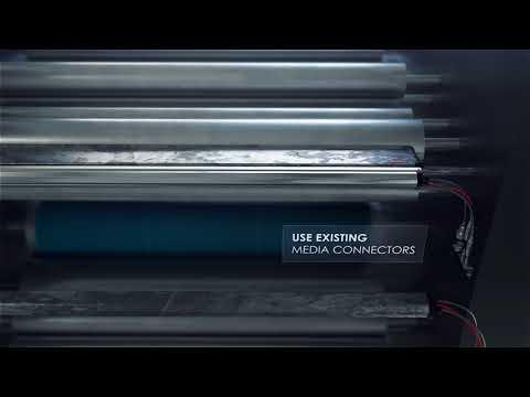 World2 Spray Bar - Valve Rail Upgrade, BALDWIN Technology Company Inc