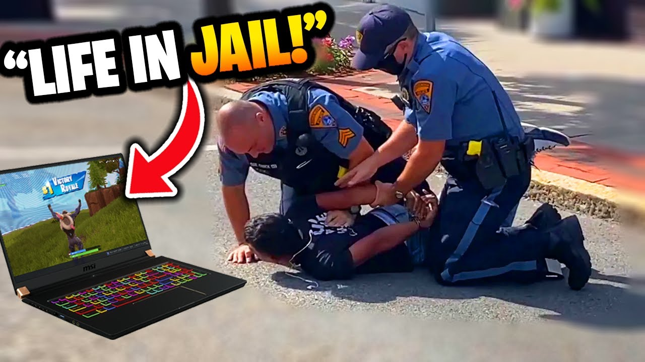Download Kid gets ARRESTED playing Fortnite in school..