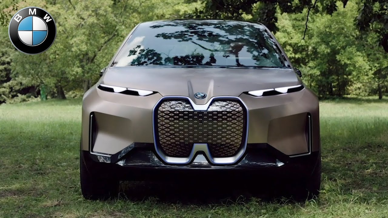 BMW Vision iNext | Driving, Exterior, Interior - YouTube