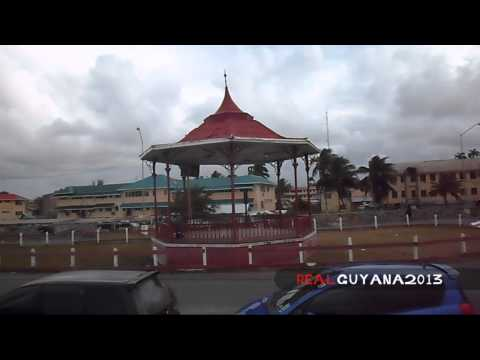 Real Guyana - #3 - The Georgetown Sea Walls - (Then and Now)