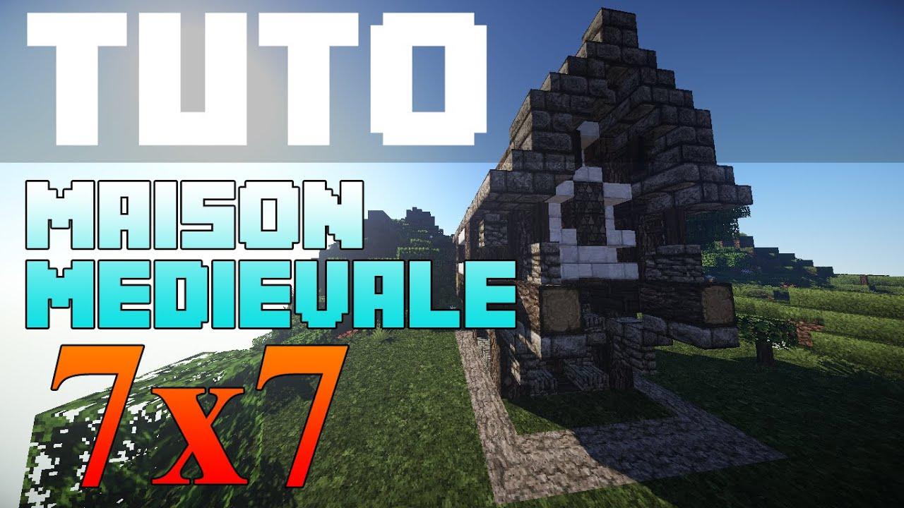 Tuto Minecraft Maison Medievale 7x7 By Soja