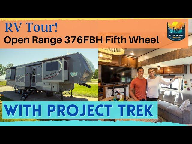 RV Tour | Open Range 376FBH | Project Trek | RV Living Fulltime