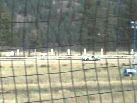 Eagle Track Raceway Steve Russ A Race Fan A Ride In The Car Oct 5th 2013