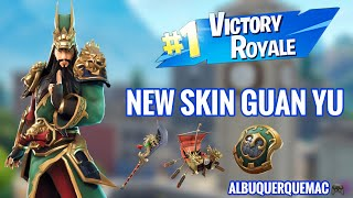 I BOUGHT THE NEW SKIN GUAN YU AND VENCI! -FORTNITE BATTLE ROYALE | NEW GAMEPLAY SKIN SHOP FORTNITE