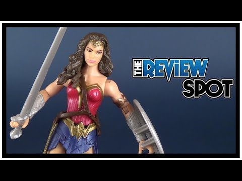 Toy Spot | Mattel Justice League Movie Basic Wonder Woman Figure