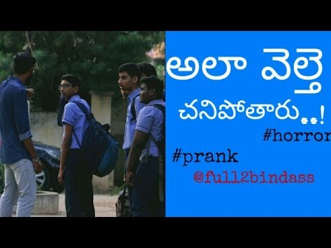 ALA VELTHE CHANIPOTHARU PRANK || FULL2BINDASS || HYDERABADPRANKS 2019 ||