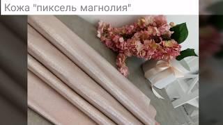 Новые кожи из коллекции ВЕСНА-ЛЕТО 2019.(, 2019-02-08T10:11:07.000Z)
