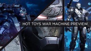 Hot Toys War Machine Diecast Mark 1