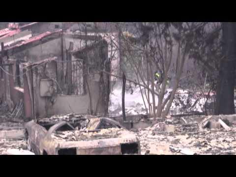 Tokai Cape fire damage