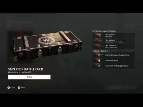 Battlefield 1 Battlepack Opening 20+ |