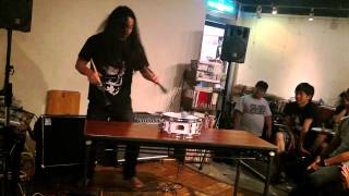 Ryosuke Kiyasu snare drum solo - August 23,2015