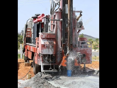 Ground Water Testing with Coconut, and Machar, Borewell Drilling, Pumping Water in Borewell