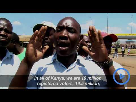 Kisumu residents reacts angrily after Supreme court ruling