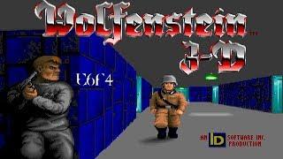 Wolfenstein 3D (DOS) E6F4