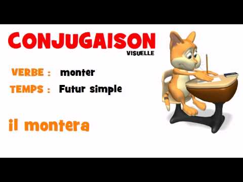 Conjugaison Monter Futur Simple Youtube