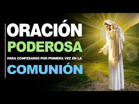 🙏 Oración para Confesarse por Primera vez PARA LOS NIÑOS ANTES DE LA COMUNIÓN 🙇