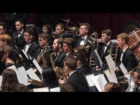 UMich Symphony Band - David Maslanka - Symphony no. 4 (1994)