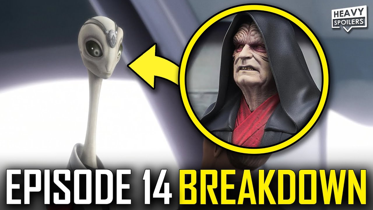 BAD BATCH Episode 14 Breakdown | Ending Explained, STAR WARS Easter Eggs And Things You Missed