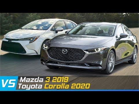 So sánh Mazda 3 2019 và Toyota Corolla 2020 | Thiết kế - Trang bị - Công nghệ